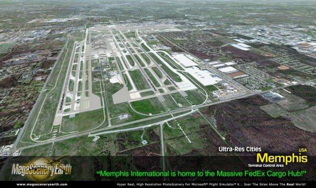 MegaScenery Earth Ultra-Res City Memphis