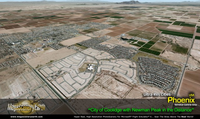 MegaScenery Earth Ultra-Res City Phoenix