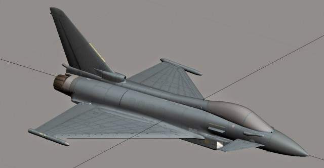 Dino Cattaneo - Eurofighter Typhoon Sept 14