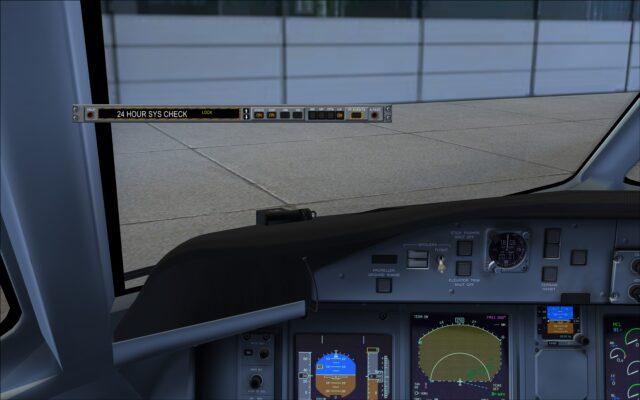 Main control panel