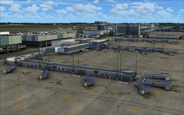 New terminal B