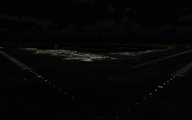 Runway, taxiway and approach lighting