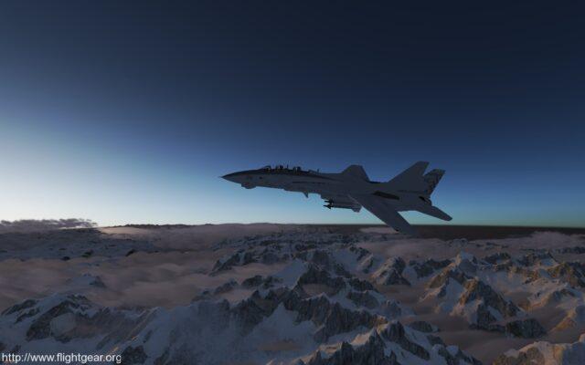 Flight Gear screenshot