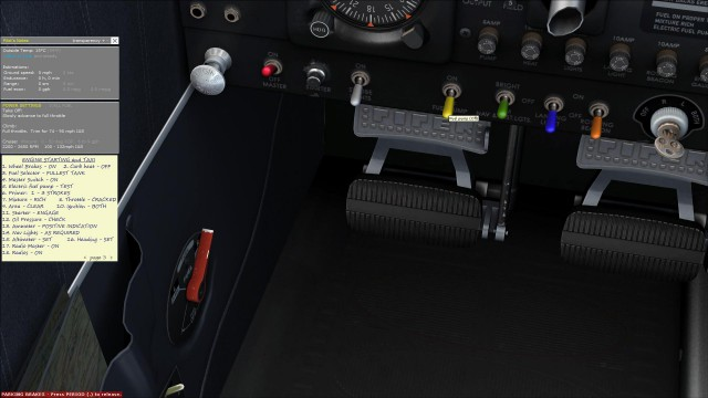PA-28 FSX Checklist