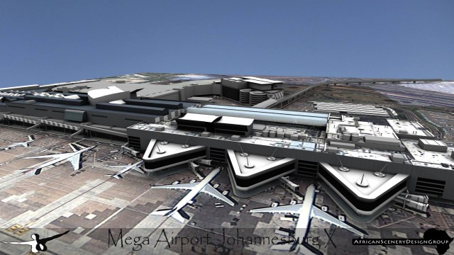 ASDG Mega Airport Johannesburg preview