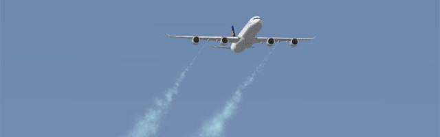 BBS A340 dumps fuel