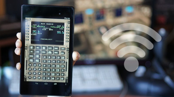 Captain Sim 777 CDU Android