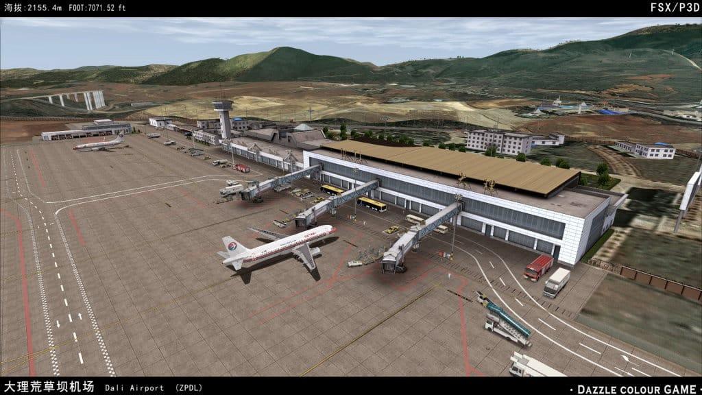 Dazzle Colour Game – Yunnan Dali Airport ZPDL 2014 « simFlight