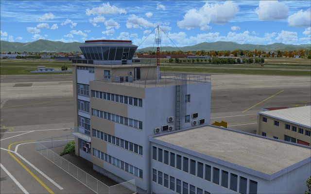 Detailed control tower