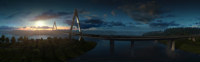 ETS2 Light and weather update preview in Scandinavia