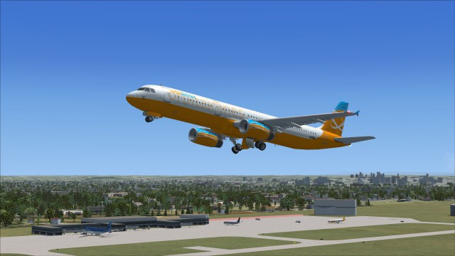 A321 Departing default Toulouse