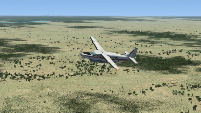 Funny looking swamps and jungle in Gabon. The default landclass could still bear some improvement!