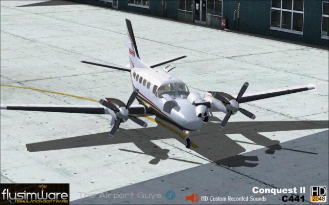 FlySimware Cessna 441 Conquest II