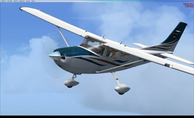 A2A Accu-Sim C182 Skylane in FSX:SE - image courtesy of Lewis at A2A