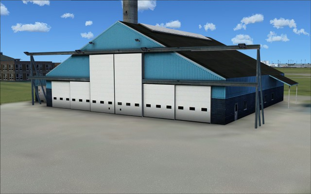 Another old hangar but differenet design
