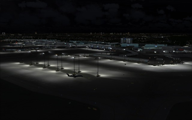 Apron lighting