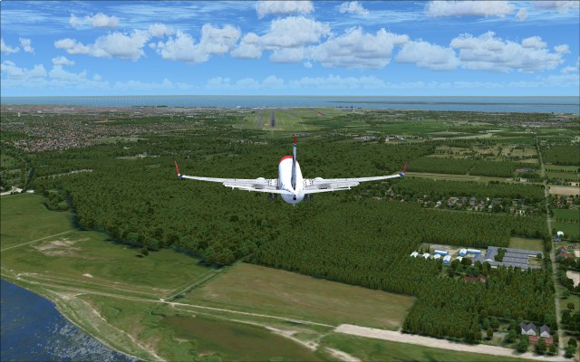 Arrival to runway 04L