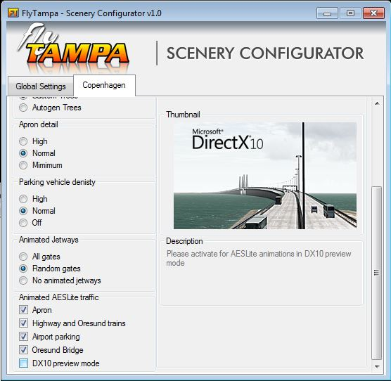 Review of FLYTAMPA – COPENHAGEN for FSX/P3D