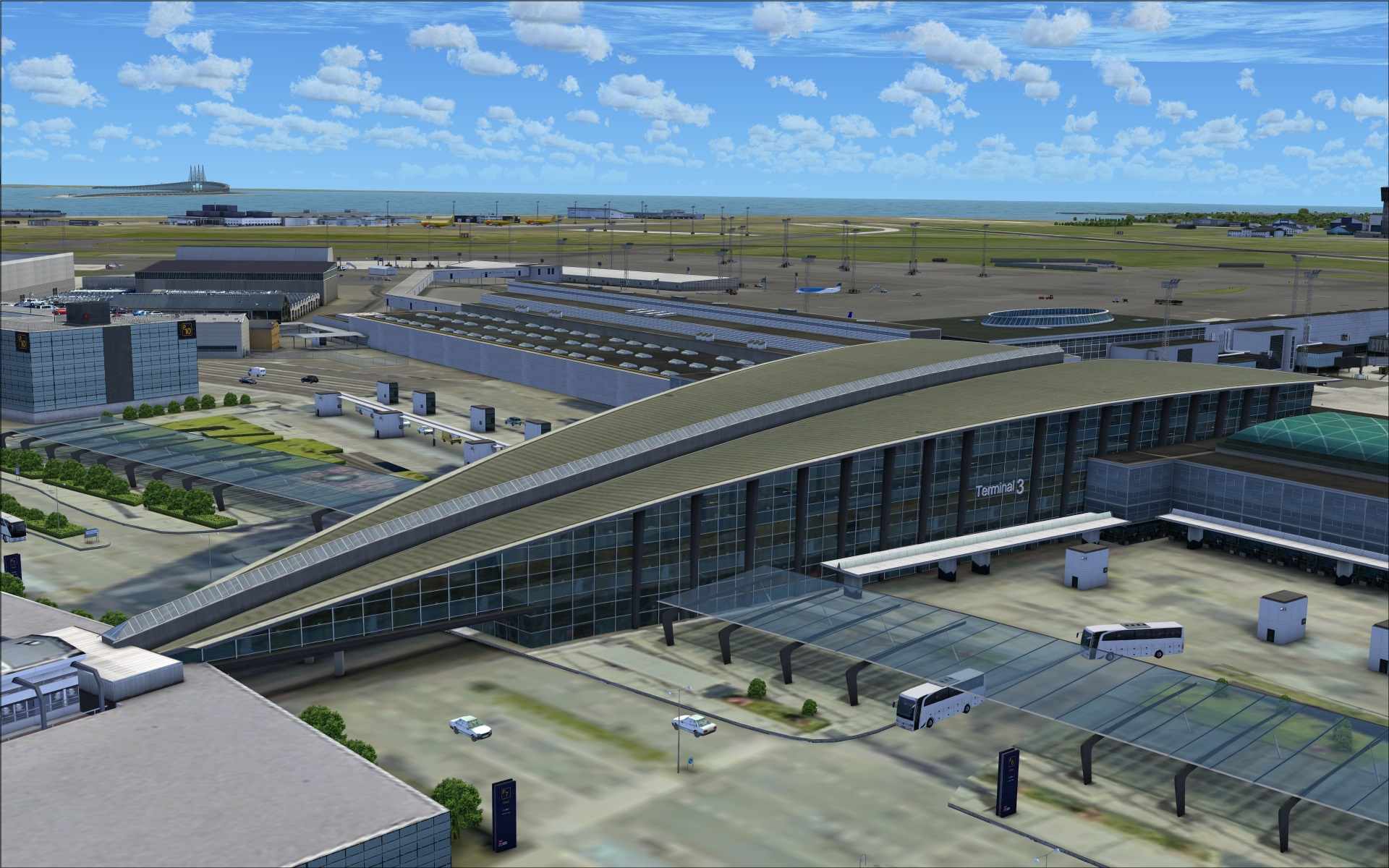 Review of flytampa copenhagen for fsx p3d the latest release by flytampa is copenhagen - Copenhagen airport to port ...