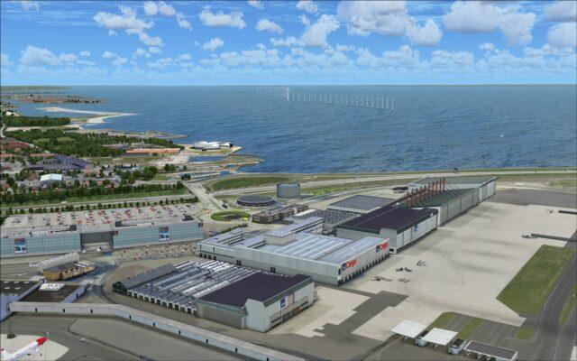 SAS cargo hangars