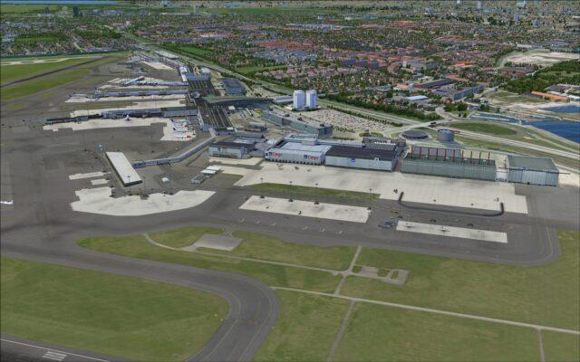 Terminal and SAS hangars