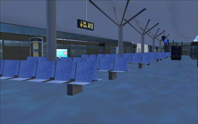 Terminal interior modelling