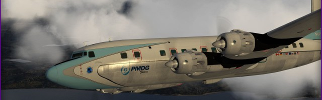 PMDG - DC-6B Preview March 15