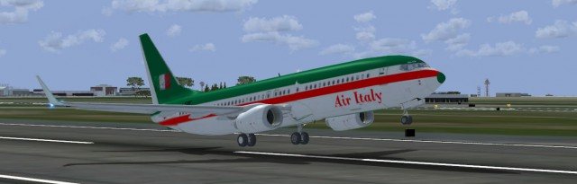 Simple FSX Missions Italy