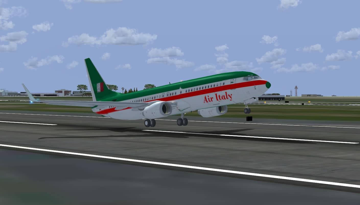 Simple FSX Missions : Short flights Italy