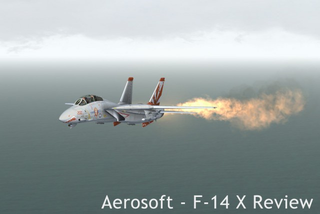 So this happens when you combine fuel dumping with afterburner. The so-called dump-and-burn...