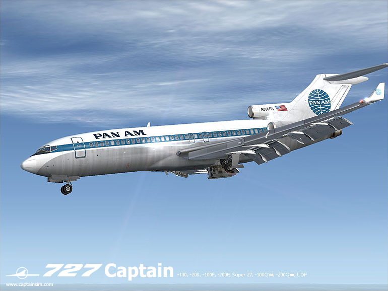 CaptainSim – 727 Service Pack 2 6 Released Now with P3D