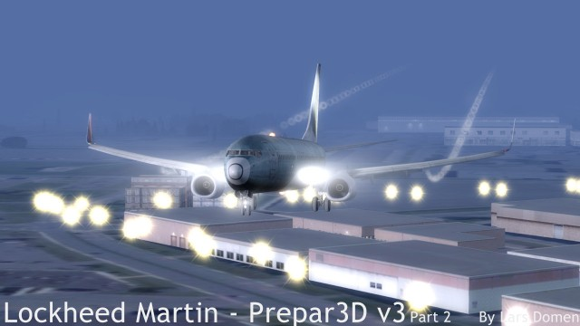 PMDG 737-800 NGX, FSFX 737 Immersion, FlyTampa Montreal.