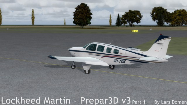 A shot from one of my first flights. Taxiing in the Beech Bonanza.