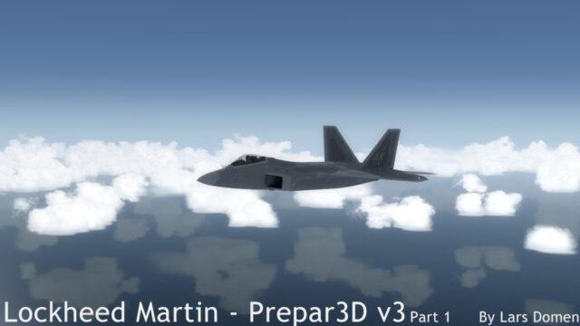 The F-22 cruising along at FL250.