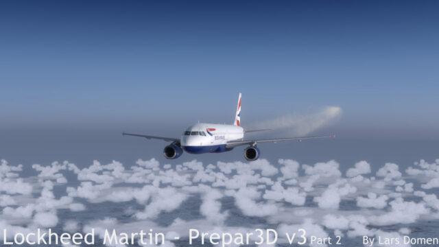 A320 Contrails