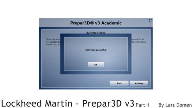 P3D activation3