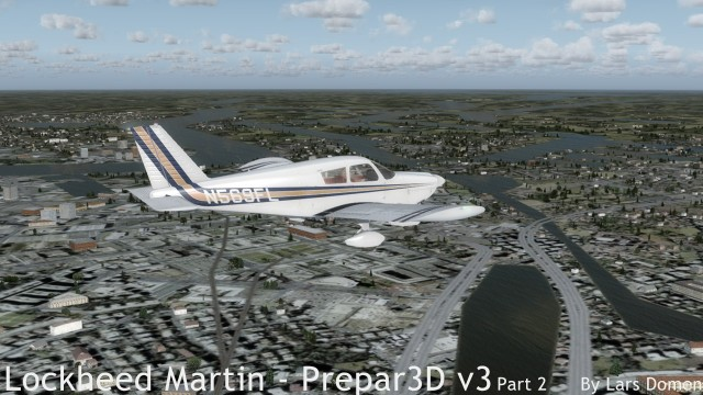 Cherokee in stock P3D v3.