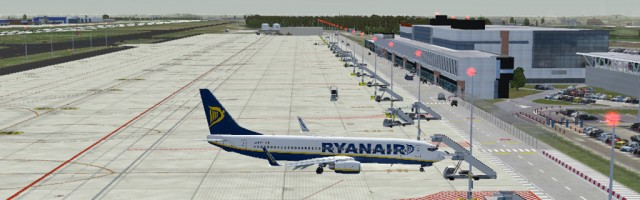 Voie Bleu - EBCI Charleroi Brussels South FSX