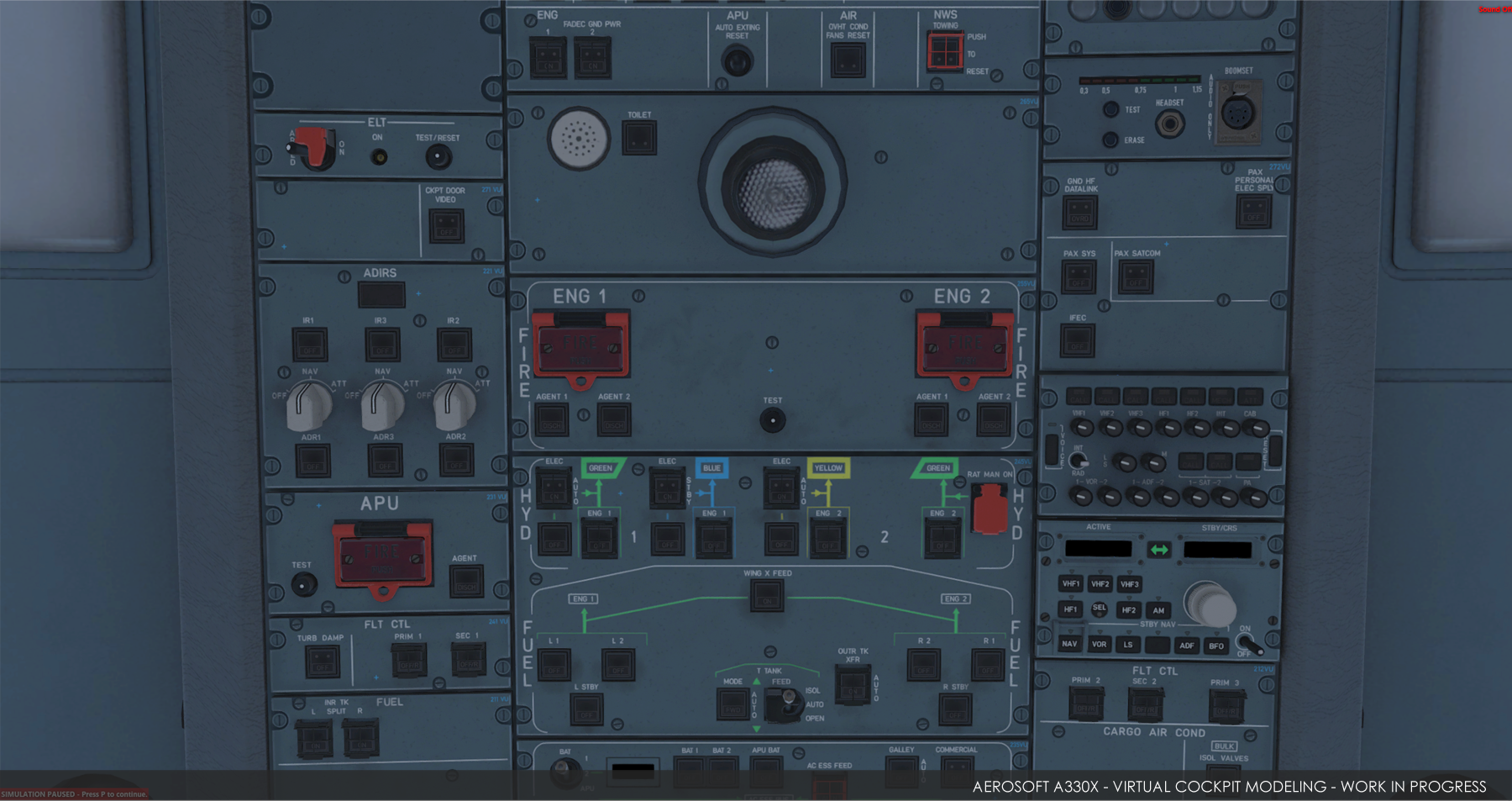 aerosoft  u2013 a330 overhead  u201c99  complete u201d