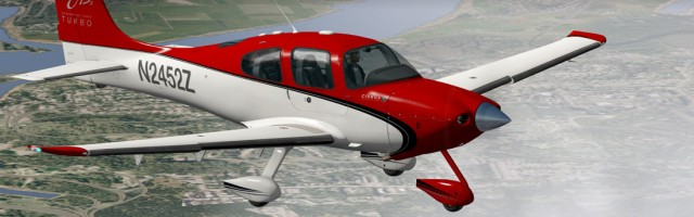 Carenado SR22 GTSX Turbo X-Plane