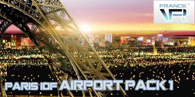 FranceVFR - Paris Ile-De-France VFR - Airport Pack vol1