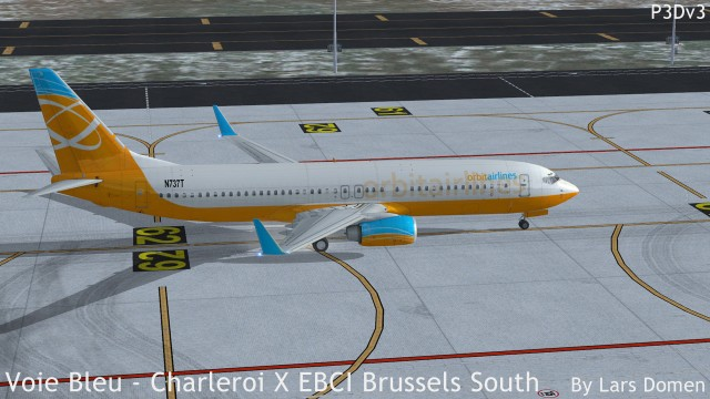 The main apron in FSX. Looking pretty good if you ask me.