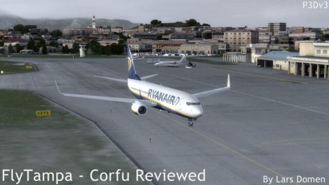 FlyTampa Corfu Review