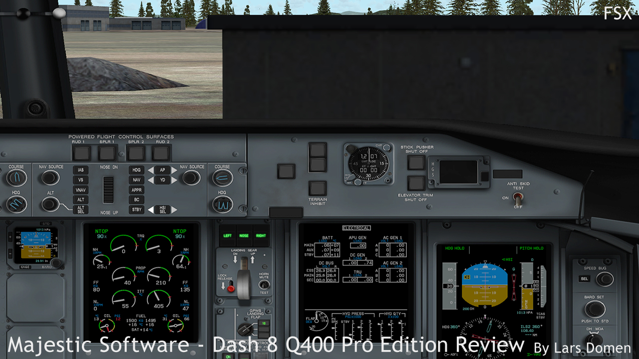 Majestic Software Dash 8 Q400 Pro Edition Review