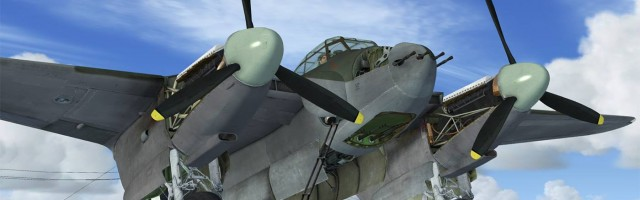 Just Flight - DH.98 Mosquito preview April 2016