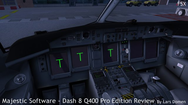 Getting the aircraft started early in the morning in FSX.