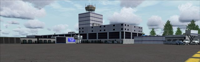 FSXCENERY - JACKSON–MEDGAR WILEY EVERS INTERNATIONAL AIRPORT FSX P3D