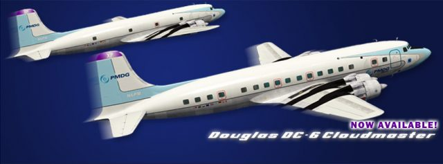 PMDG - DC-6 Cloudmaster final