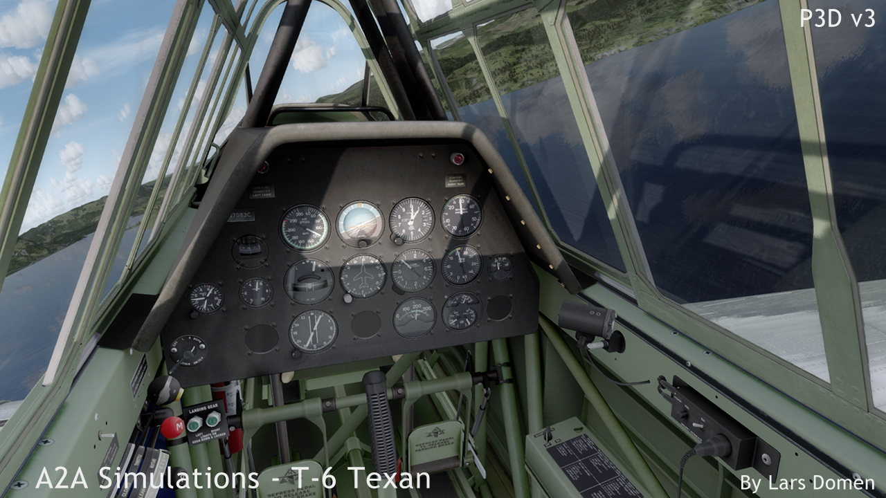 A2a Simulations T 6 Texan Review