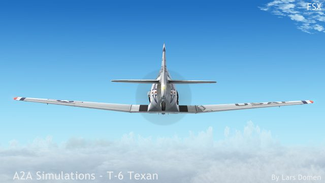 Getting the Texan up to altitude can be an exercise in patience. It loves to go down though.